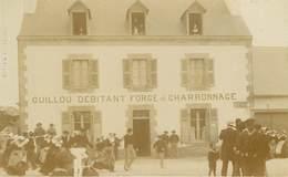 Bretagne - Dép 29 - Finistère - A Identifier - Carte Photo - Guillou Débitant Forge Et Charronnage - Cliché DP Félix - France