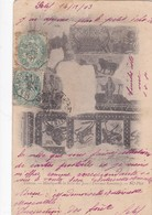 CARTOLINA - ALGERIA  - TEBESSA - MOSAIQUE LA SALLE DES JEUX ( TBERMES ROMAINS ) - Altri