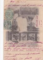CARTOLINA - ALGERIA  - TEBESSA - MOSAIQUE LA SALLE DES JEUX ( TBERMES ROMAINS ) - Algeria