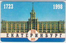 #06 - RUSSIA-062 - EKATERINBURG REGION - 275 YEARS - 75 UNITS - Russie