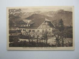 GROSSGMAIN , Gasthof  Kaiser Karl , Schöne Karte 1929 - Österreich