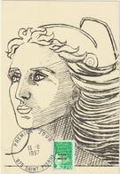 Carte-Maximum SAINT PIERRE Et MIQUELON N° Yvert 650 (MARIANNE) Obl Sp Ill 1er Jour - Cartes-maximum