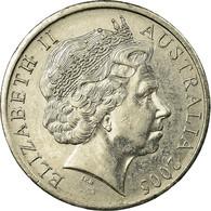 Monnaie, Australie, Elizabeth II, 20 Cents, 2005, Royal Australian Mint, TTB - 20 Cents