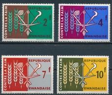 °°° RWANDA - Y&T N°33/36 - 1963 MNH °°° - 1962-69: Nuovi