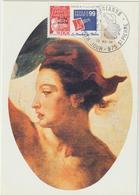 Carte-Maximum SAINT PIERRE Et MIQUELON N° Yvert 674 (MARIANNE- PHILEXFRANCE) Obl Sp Ill 1er Jour - Cartes-maximum
