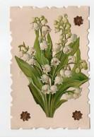 - CPA FLEURS - Bouquet De Muguet (en Découpis) - - Fleurs