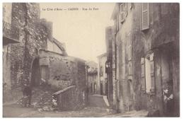 CPA - Gassin (Var) - La Rue Du Port - FRANCO DE PORT - Other Municipalities