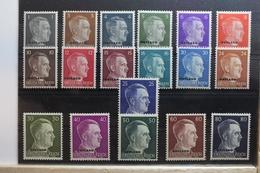 Deutsche Besetzung 2. WK Ostland 1-18 ** Postfrisch #SQ888 - Besetzungen 1938-45