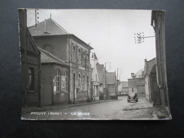 CP FRANCE (M1902) PROUVY 59 (2 Vues) La MAIRIE Marcophilie Maing 1930 - Other Municipalities
