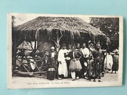 VILLAGE AFRICAIN - La Salle De Danse - Autres