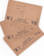 3 Cartes Franchise Militaire ,dans L'etat - Marcophilie (Lettres)