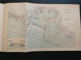ANNALES PONTS Et CHAUSSEES ((Italie) - Plan Du Port De Gënes - 1906 (CLA77) - Cartes Marines