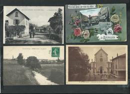 Isère. Lot De 1400 CPA Avec Quelques Villages Et Petites Animations - Cartes Postales