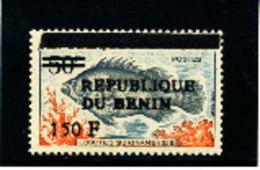 Bénin 1996  ( Poisson Surinamensis - 150F/50F )  ** Luxe  TRES  RARE  Signé - Bénin – Dahomey (1960-...)