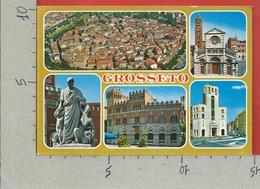 CARTOLINA NV ITALIA - GROSSETO - Vedutine Multivue - 10 X 15 - Grosseto