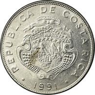Monnaie, Costa Rica, Colon, 1991, TTB, Stainless Steel, KM:210.1 - Costa Rica