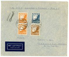 Nr. 536 MIF Flugpostbrief Nach Hongkong 1938 - Briefe U. Dokumente
