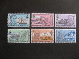 Territoire Antarctique Britannique: TB Série N° 90 Au N° 95, Neufs XX. - Neufs