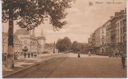 CP - TRAINS - Gare - Namur - Place De La Gare 1910. - Gares - Sans Trains