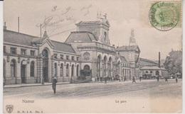 CP - TRAINS - Gare - Namur - La Gare - 1909. - Stations - Zonder Treinen