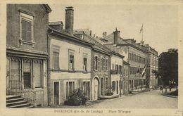 Luxemburg, DIEKIRCH, Place Wirtgen (1920s) Postcard - Diekirch