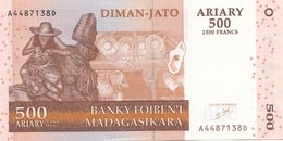 Banknote MADAGASKAR 500 ARIARY (2500 Franc's) 2004, Banknote In Guter Erhaltung - Madagaskar