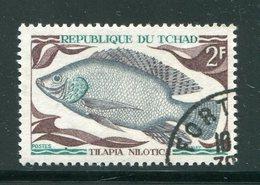 TCHAD- Y&T N°216- Oblitéré (poissons) - Tchad (1960-...)
