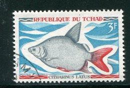 TCHAD- Y&T N°217- Oblitéré (poissons) - Tchad (1960-...)