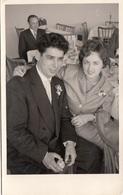 JUNGES BRAUTPAAR, Fotokarte Um 1950 - Paare