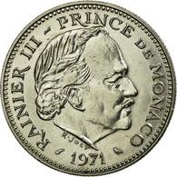 Monnaie, Monaco, Rainier III, 5 Francs, 1971, SUP, Copper-nickel - Monaco