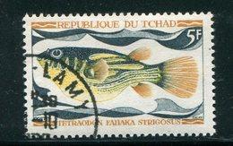 TCHAD- Y&T N°218- Oblitéré (poissons) - Tchad (1960-...)
