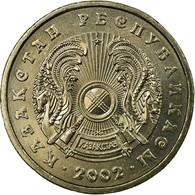 Monnaie, Kazakhstan, 20 Tenge, 2002, Kazakhstan Mint, SUP, Copper-Nickel-Zinc - Kazachstan