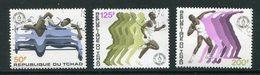 TCHAD- Y&T N°283 à 285- Oblitérés - Tchad (1960-...)