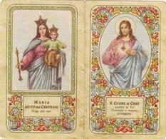 Calendarietto Tascabile Sacro Cuore Di Gesu' 1953 - Calendars