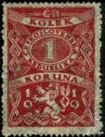 1919 Timbre Fiscal  Kolek 1 Koruna - Tchécoslovaquie