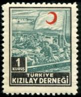 1952  Timbre De Bienfaisance  KIZILAY DERNEĞI   1 KURUŞ - 1921-... République