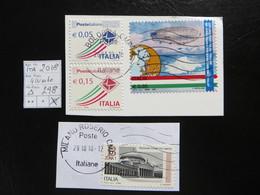 """2018  """" 4 Werte """" Auf Ausschnitt Gut Gestempelt   LOT 298 - 6. 1946-.. Republik"""