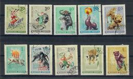 UNGHERIA 1965 - IL CIRCO - SERIE COMPLETA - USATI - Ungheria
