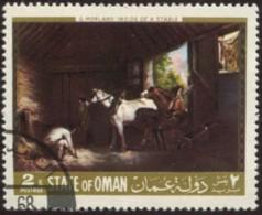 Pays : 369,02 (Oman, Etat)   Michel 1968-05/01, 05/02, 05/03, 05/04 (o) - Oman