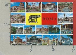 CARTOLINA NV ITALIA - ROMA - Vedutine Multivue - 10 X 15 - Roma (Rome)