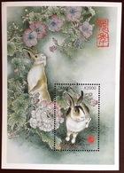 Zambia 1999 Year Of The Rabbit Animals Minisheet MNH - Lapins