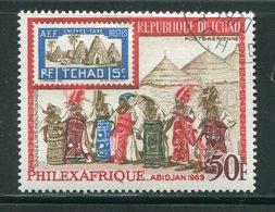 TCHAD- P.A Y&T N°52- Oblitéré - Tchad (1960-...)