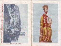 Calendarietto Tascabile Convento Santuario S.matteo 1957 - Calendarios
