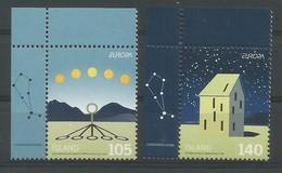 Island  2009  Mi.Nr. 1242 / 1243 , EUROPA CEPT - Astronomie - Postfrisch / MNH / (**) - Europa-CEPT