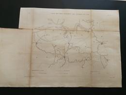 ANNALES PONTS Et CHAUSSEES (Belgique) - Plan Des Voies Navigables Des Environs De Gand - Graveur E.Pérot 1882 (CLA81) - Carte Nautiche