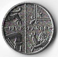 United Kingdom 2017 5p [C833/2D] - 1971-… : Decimal Coins