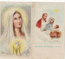 Calendarietto Tascabile Anno Domini 1955 - Calendarios