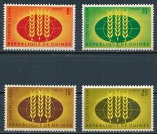 °°° GUINEE - Y&T N°164/67 - 1963 MNH °°° - Guinea (1958-...)