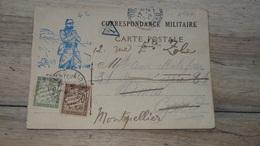 Correspondance Militaire Taxée  …... … PHI.......2598 - Postmark Collection (Covers)