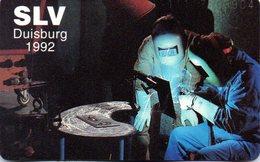 """(Gm3) BRD Telefonkarte 1992 (20) Ungebraucht """"Schweißtechnische Lehr- Und Versuchsanstalt, Duisburg (SLV)"""" - Deutschland"""